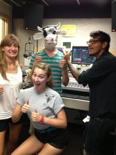 In the KTSW studio