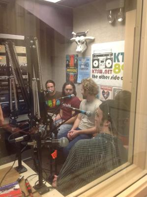 Halaska in the KTSW studio!
