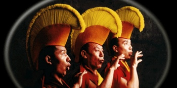 Tibetan monks from the Drepung Loseling Monastery