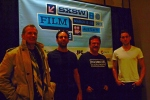 Coldwater - actor James C. Burns, director Vincent Grashaw, executive producer Joe Bilotta, and actor PJ Boudousque'