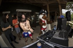 DJ Texas Trunks at Dakota Ranch's MR Fest Pool Party
