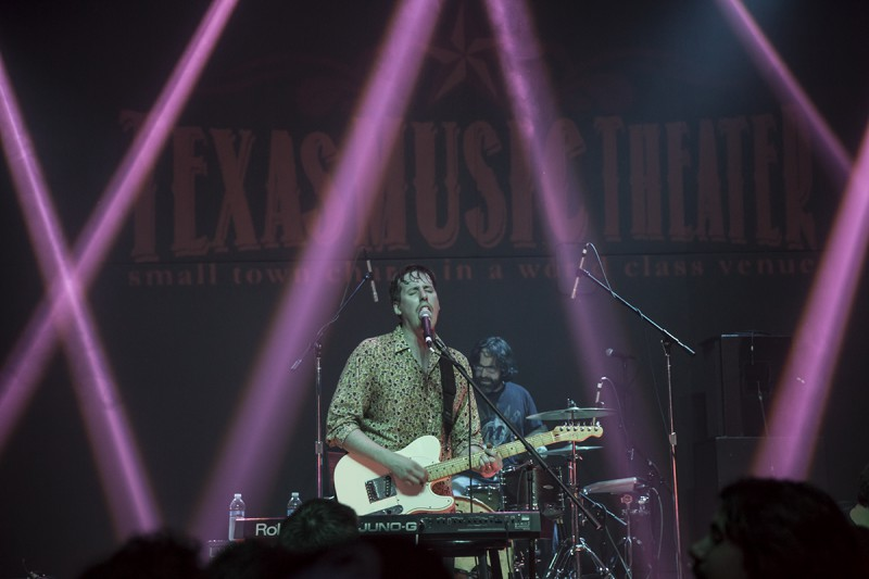 Black and White Years performing at Texas Music Theater during MR Fest