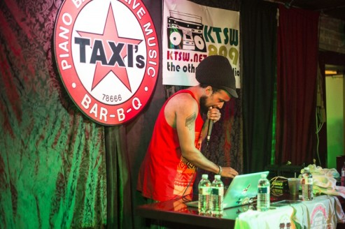 Fat Tony performing at Taxi's during MR Fest