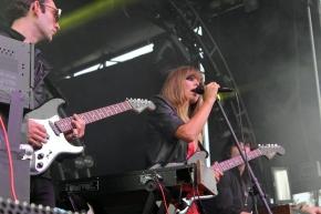 Halie Davis - Chromatics performing at Fun Fun Fun Fest