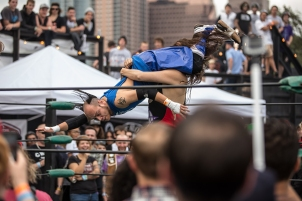 Anarchy Championship Wrestling at Fun Fun Fun Fest 2013.