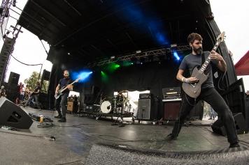 L. Alex Frank - Pelican performing at Fun Fun Fun Fest