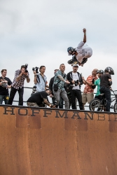 L. Alex Frank - Vert ramp skating at Fun Fun Fun Fest