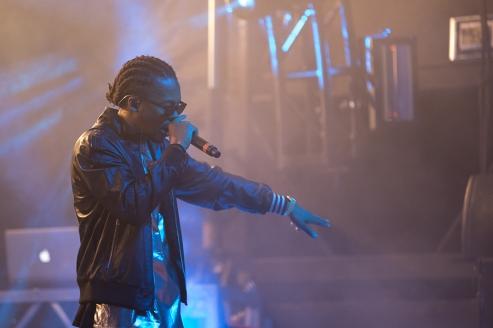 Lupe Fiasco performing at Fun Fun Fun Fest 2013