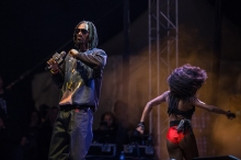 Snoop Dogg performing at Fun Fun Fun Fest 2013