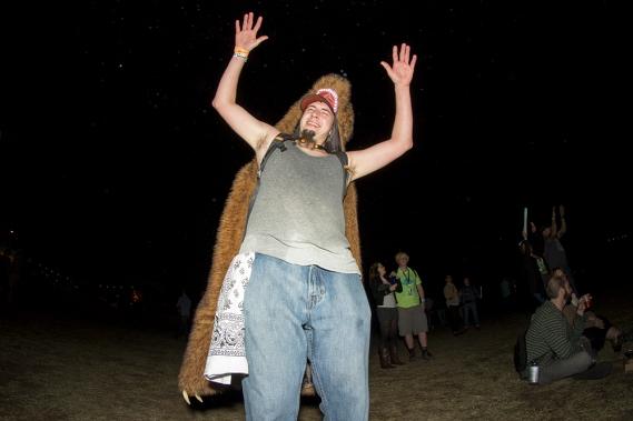 David Rivera - A wild Bearman appears at Fun Fun Fun Fest 2013
