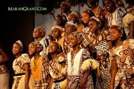 Watolo children's choir