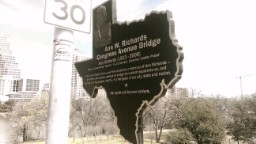 Ann W. Richards Congress Avenue Bridge.