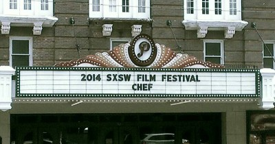 'Chef' Theater Marquee