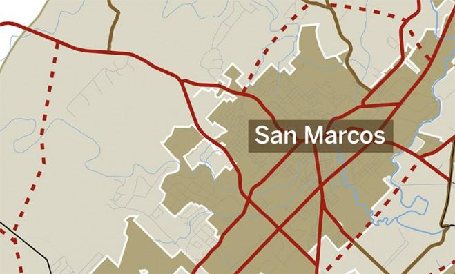 San Marcos roads