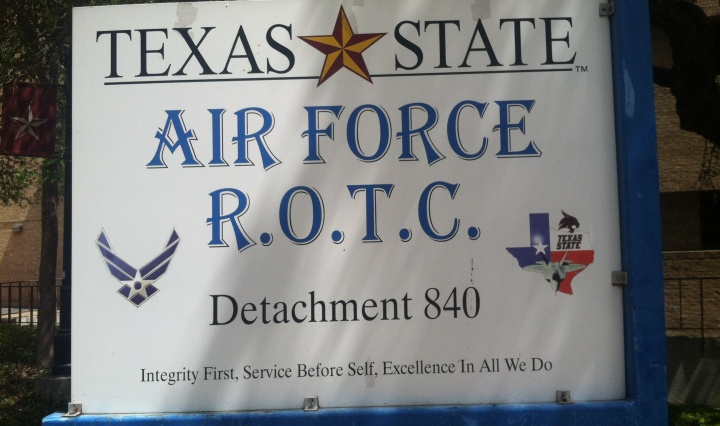 Texas state air force ROTC