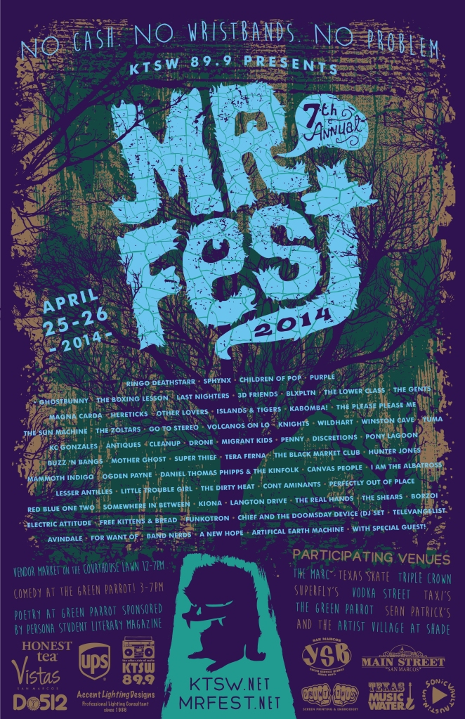 MR Fest 2014 Poster