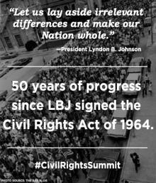 LBJ Civil Rights Summit