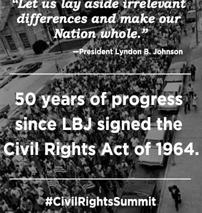 LBJ Civil Rights Summit