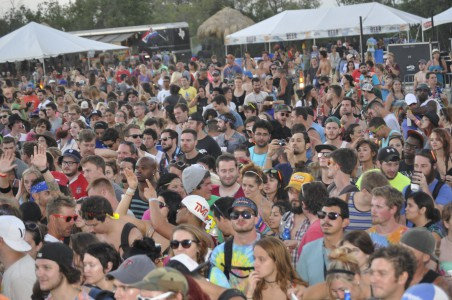 Floatfest crowd
