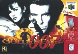 """GoldenEye 007"" Game Cover"