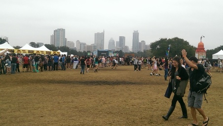 The center of ACL's second weekend.