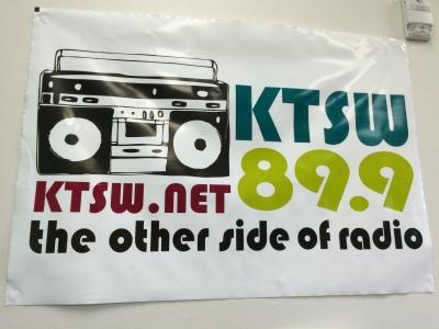 KTSW Banner.