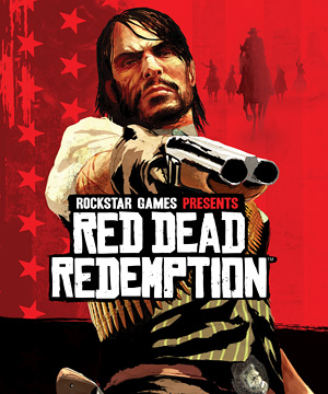 """Read Dead """"Redemption"""" Game Cover"""