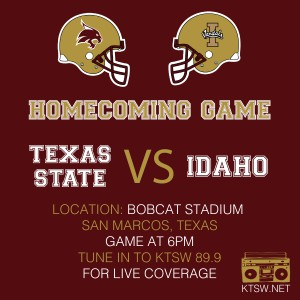 Texas State Idaho Graphic