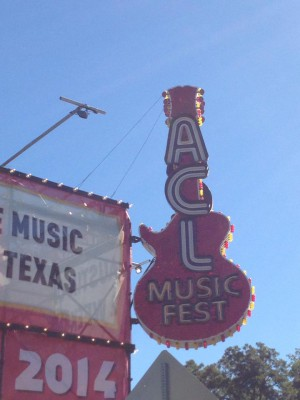 ACL Music Fest Sign