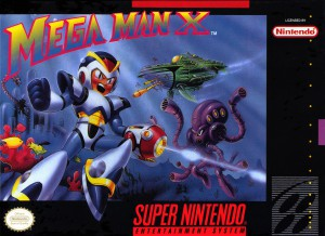 Mega Man X cover (SNES)
