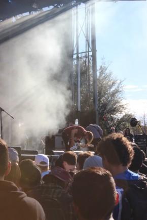 Chris Simpson of Mineral at Fun Fun Fun Fest 2014