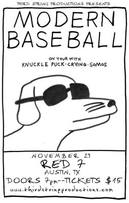 modern baseball and knuckle punch tour