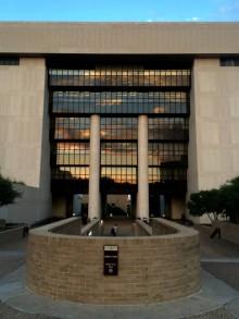Alkek Library. Photo by Daryan Jones