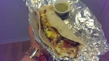 Exxon Bacon and Egg Taco