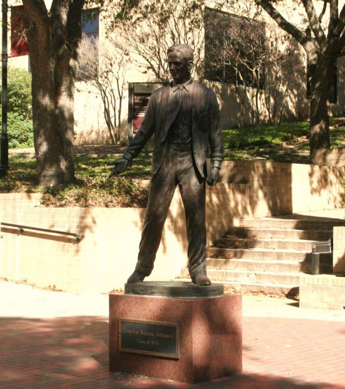 LBJ Statue. Photo by Nathalie Cohetero