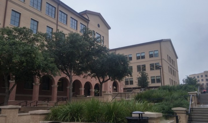 Undergraduate Academic Center building. Photo by Christopher Cabello