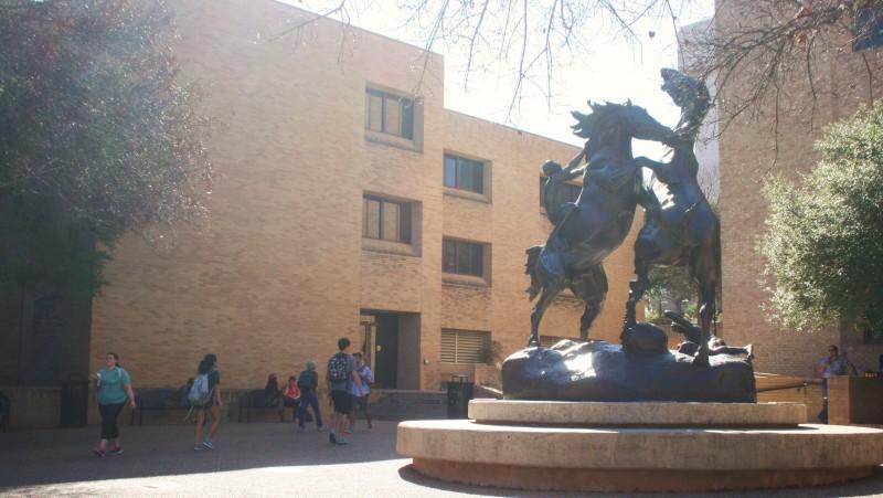 Stallions Statue. Photo by Nathalie Cohetero