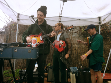 Homeshake performing at SXSW. Photo by Tafari Robertson