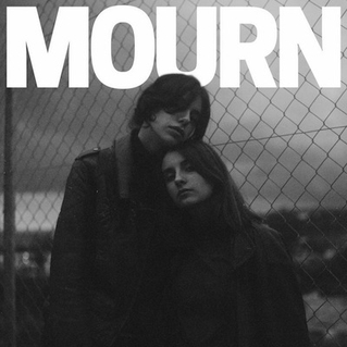 Mourn's Coverart of New Self Titled Album