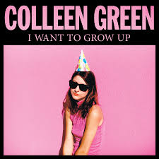 "Colleen Green's Cover Art for ""I Want To Grow Up"""