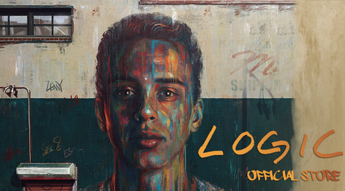 Logic's Album Cover for Under Pressure
