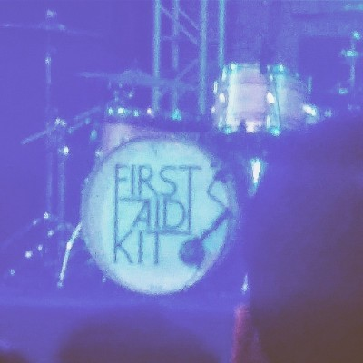 First Aid Kit drumset.