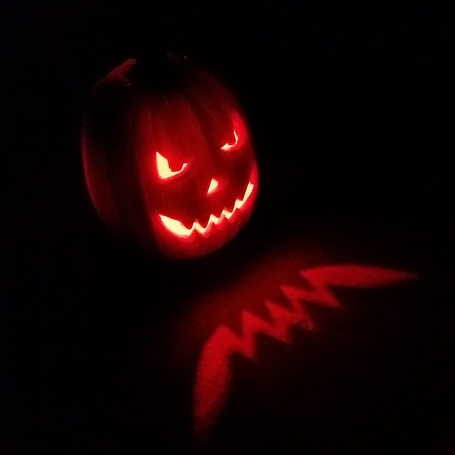 scary pumkin