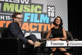 From Left to Right: Ariel Foxman & Kerry Washington. Photo by Travis Tyler.