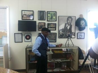 Eddie Durham exhibit at Calaboose - Courtesy of Calaboose Board Memberjpg