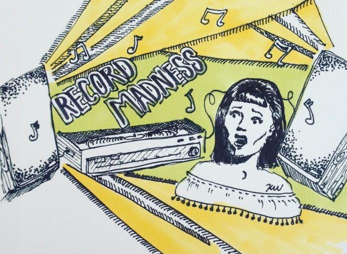 Record Madness - Kate Wiggins