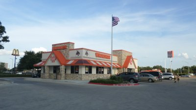 The Whataburger located off of I-35 and Redwood is one of the most profitable Whataburger's in Texas. Photo by Austin Cowan.