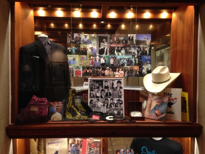 Some of Emilio Navaira's clothes, photographs and more can be found at the Wittliff Collections on the 7th floor of Alkek Library at Texas State University. Photo by Amanda Forbes.