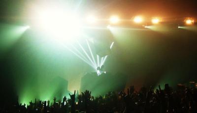 deadmau5 at Austin City Limits Music Festival, 2011. Photo by Jordan Cooper.