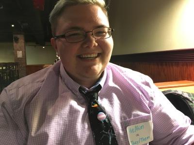 Ryan Kessinger is a transgendered male. Photo by Alisa Pierce.